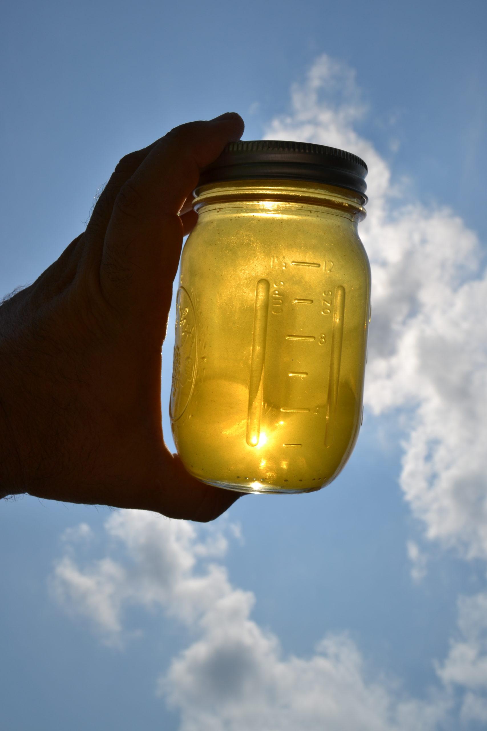 raw, local, unpasteurized honey
