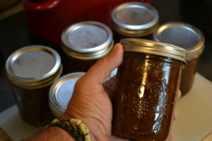 Fig Butter, finished and canned